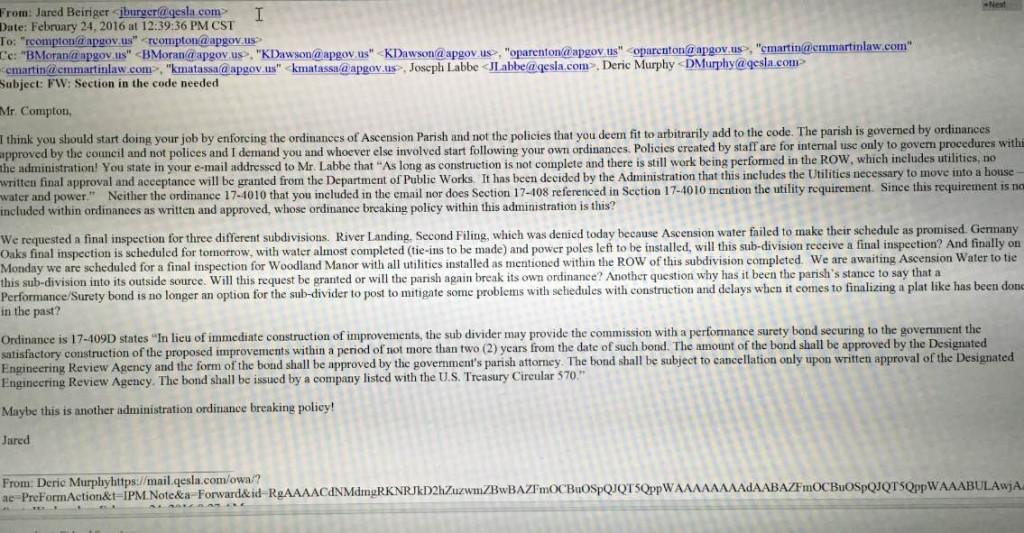 Beiriger email