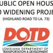 Open House on Thursday to discuss I-10 widening; Bluff Rd bridge closing