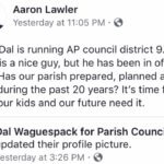 Lawler's public opposition should secure Todd Lambert's return to Council