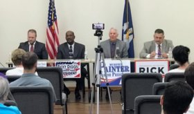 Employee morale, subdivision over-development among topics at President Candidate Forum